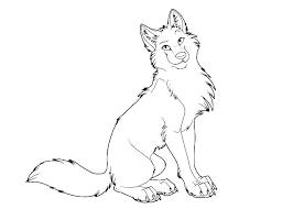 Kleurplaat Wolf 07 Topkleurplaatnl