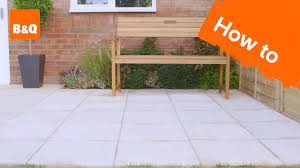 how to lay a patio you