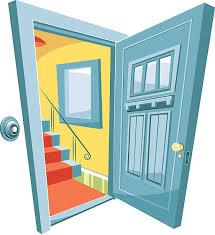 Open front door illustration Background Open Door Vector Art Illustration Istock Royalty Free Open Front Door Clip Art Vector Images Illustrations
