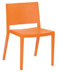 orange plastic chair. Orange Plastic Chair Stackable Sturdy - Set Of 2 [mm-pc S