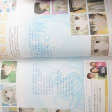 chobits navigate book w sticker art material clamp fanbook japan let me be with you round table featuring nino nana