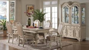 Antique Kitchen Table Sets Veronica Dining Table In Antique Style White W Optional Items