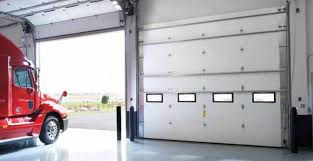 Commercial garage doors sectional steel insulated elegant erikblog