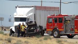 Two Killed Three Injured In Vehicle Big Rig Collision In