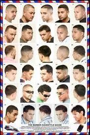 Mens Haircut Chart Haircut Poster 061hsm In 2019 Hair Barber Barber Poster