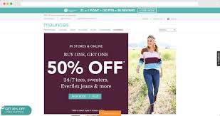 Mention this in store for the extra 10% off total purchase when using maurices credit card. Maurices Credit Card Review