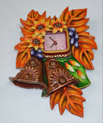 Paper Mache Decorating Handmade Paper Mache Wall Clock Buy With 26 Discount Offer From