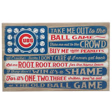 open road brands chicago cubs canvas
