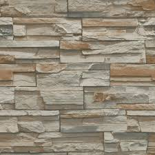 York Wallcoverings Flat Stone Paper ...