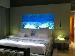 Captivating Fish Tank Headboard Images Design Ideas