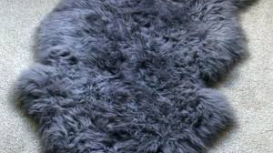 costco sheepskin rug brown lamb