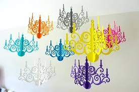 how to make a paper chandelier 3d paper chandelier template