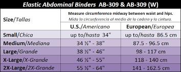 Gabrialla Style Ab 309 Standard Elastic Abdominal Binder 9