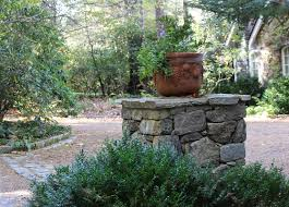 stone mailbox. Lake Home Natural Stone Column For Planter Mailbox