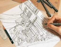 Detailed Urban Sketches With Only a Pen – CLASS101