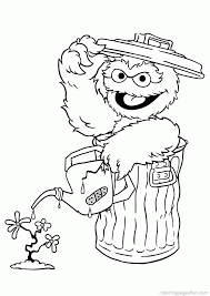 Sesame Street Birthday Coloring Pages Zoe Sesame Street Coloring