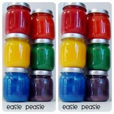 Oodles of fun with easy DIY Finger Painting Recipe - adore this easy recipe  that you