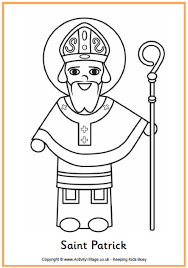 Small Picture Downloads Online Coloring Page St Patrick Coloring Pages 73 With