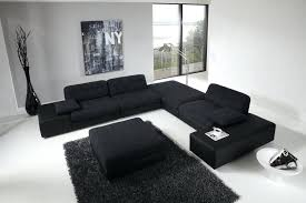 black sofa living room large for modern couches