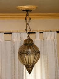 antique venetian murano blown glass chandelier with iron cage venetian lamp