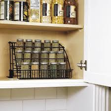 Rubbermaid Coated Wire In Cabinet Spice Rack Extraordinary Rubbermaid Pull Down Spice Rack FG32 Walmart