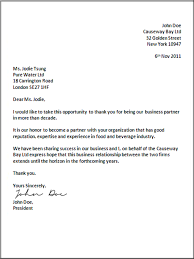 Formal Business Proposal Letter Sample Request Example