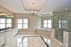 Marble Flooring Bathroom Outstanding Modern Bathroom With Marble Flooring And Walls Also