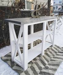 rustic furniture plans. ana white plans console table diy build like a rustic furniturepallet furniture