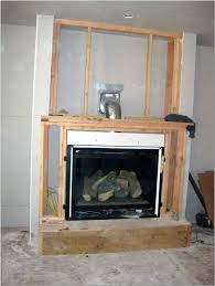 cost to install a fireplace gas log burner fireplace installation electric logs wall vented insert average