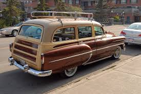 autoliterate: 1954 Chevrolet station wagon, Banff