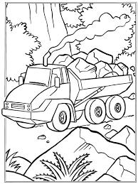 Stenen Vervoer Kleurplaat Jouwkleurplaten
