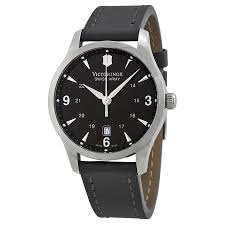 victorinox swiss army alliance black dial black strap mens watch zoom victorinox victorinox swiss army alliance black dial black strap mens watch 241474