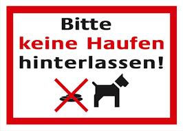 Schilder Hundekot Zum Ausdrucken Glas Pendelleuchte Modern
