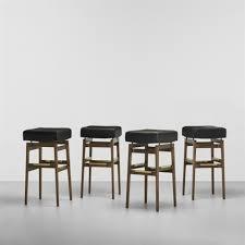 bar stools set of 4gianfranco frattini and gio ponti on artnet inside 4 set of bar stools r23