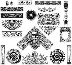 Victorian Ornaments Free Illustrator Vector Pack Download Free