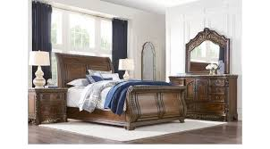 Awesome Handly Manor Pecan (grayish Brown) 5 Pc Queen Sleigh Bedroom   Traditional