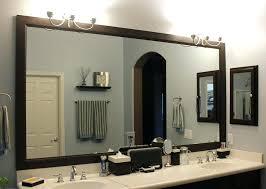 framed bathroom mirror tile framed mirror framed bathroom mirror bathroom wood framed mirror glass tile framed