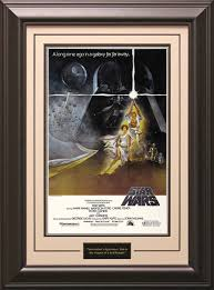 star wars episode iv a new hope framed poster print 10 gif