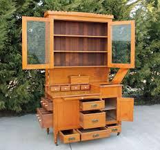 Hoosier Kitchen Cabinet Antique Kitchen Bakers Cabinet