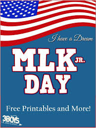 Dr. Martin Luther King, Jr Day Free Printables - Educational ...