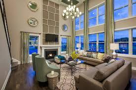 Mary Cook Associates 2 Story Living Room