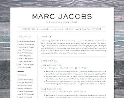 Contemporary Resume Templates Best Modern Resume Template Word Hflser