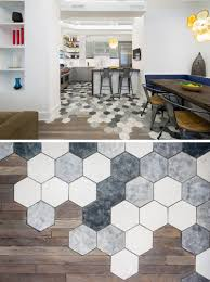 Tiles For Kitchen Floor 19 Ideas For Using Hexagons In Interior Design And Architecture
