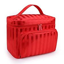 drq large cosmetic bags multifunction portable travel toiletry bag cosmetic makeup bags with mirror for