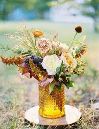 textured fall #centerpiece Photography: Ben Q. Photography -  benqphotography.com