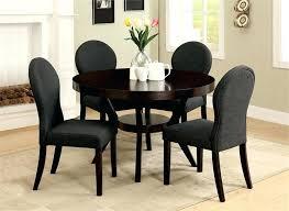 dixon round deep espresso dining table set dining table set dixon round deep espresso table set