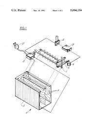 patent us5094154 electric toaster time delay mechanism patent drawing
