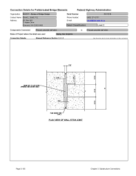 Fhwa Mse Wall Design Manual Chapter 3 Substructure Connections Connection Details