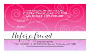 Lovely Refer A Friend Card Template Free Resume Templates
