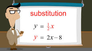algebra 36 solving systems of equations by substitution